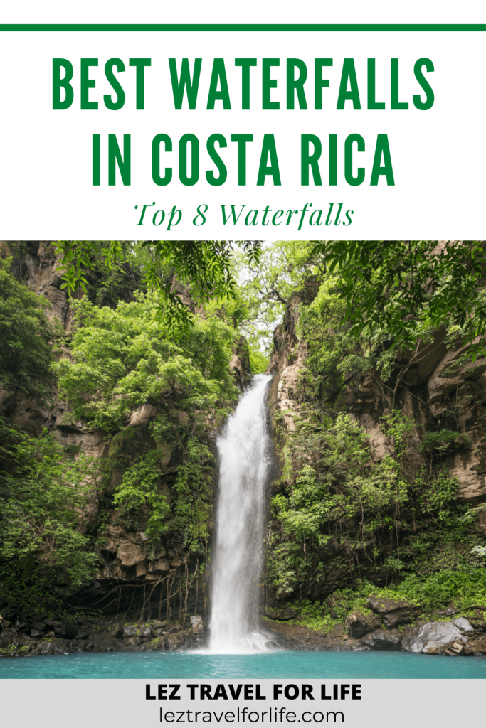 Best waterfalls in Costa Rica | Looking for all of the best waterfalls in Costa Rica? Costa Rica is known for its lush rainforest and breathtaking waterfalls. Check out this article to read about all the top waterfalls in Costa Rica. #costarica #travelcostarica #bestwaterfalls #topwaterfalls #costaricawaterfalls