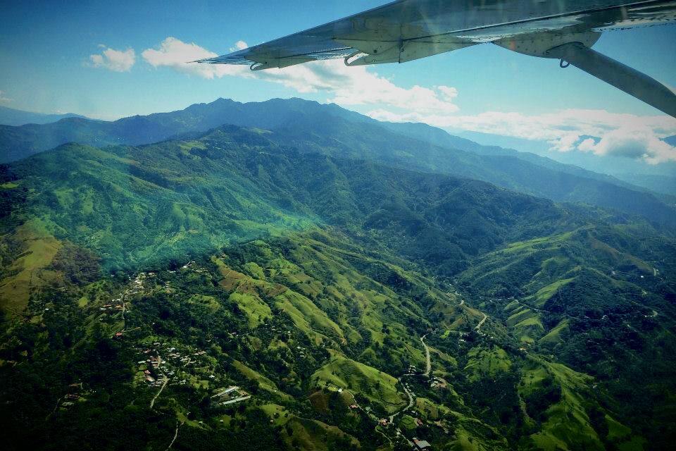 Plane Over Drake Bay - Costa Rica