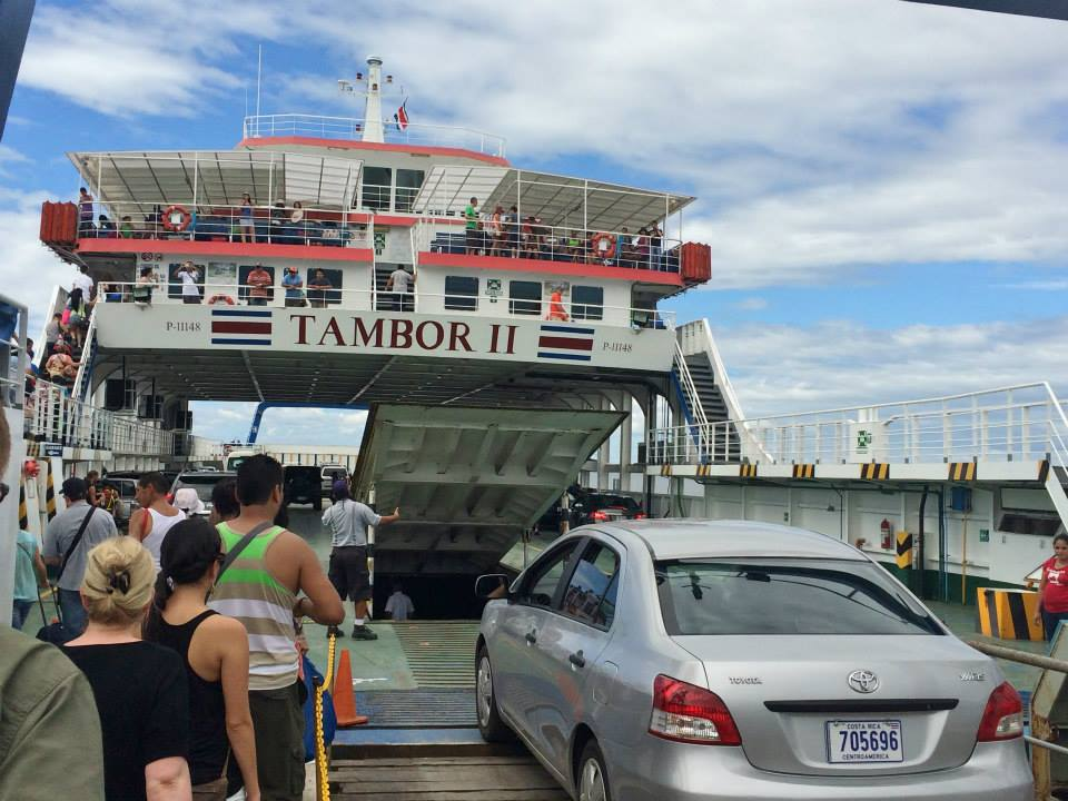 Ferry to Montezuma - Costa Rica