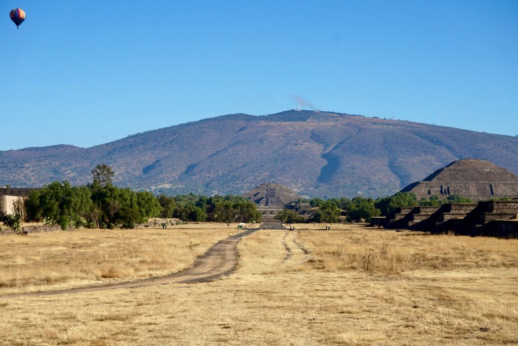 Teotihuacan pyramids - Mexico City 4 Day Itinerary
