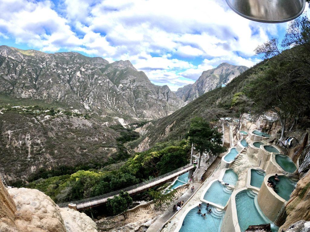 Tolantongo hot springs in Hidalgo