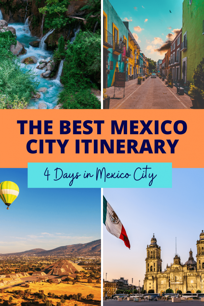 Mexico City 4 Day Itinerary: The Best Itinerary | Looking for a complete travel guide to Mexico City? Looking for things to do while in Mexico City? Check out this complete travel guide to Mexico City to get all the travel tips and ideas you will need. #mexicocity #mexico #travelmexico #travelmexicocity #cdmx #travelguide #mexicocityitinerary