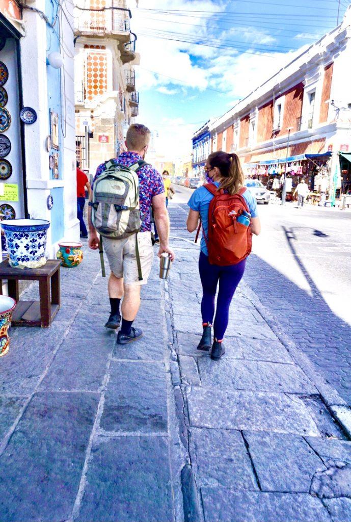 Sam walking - Puebla