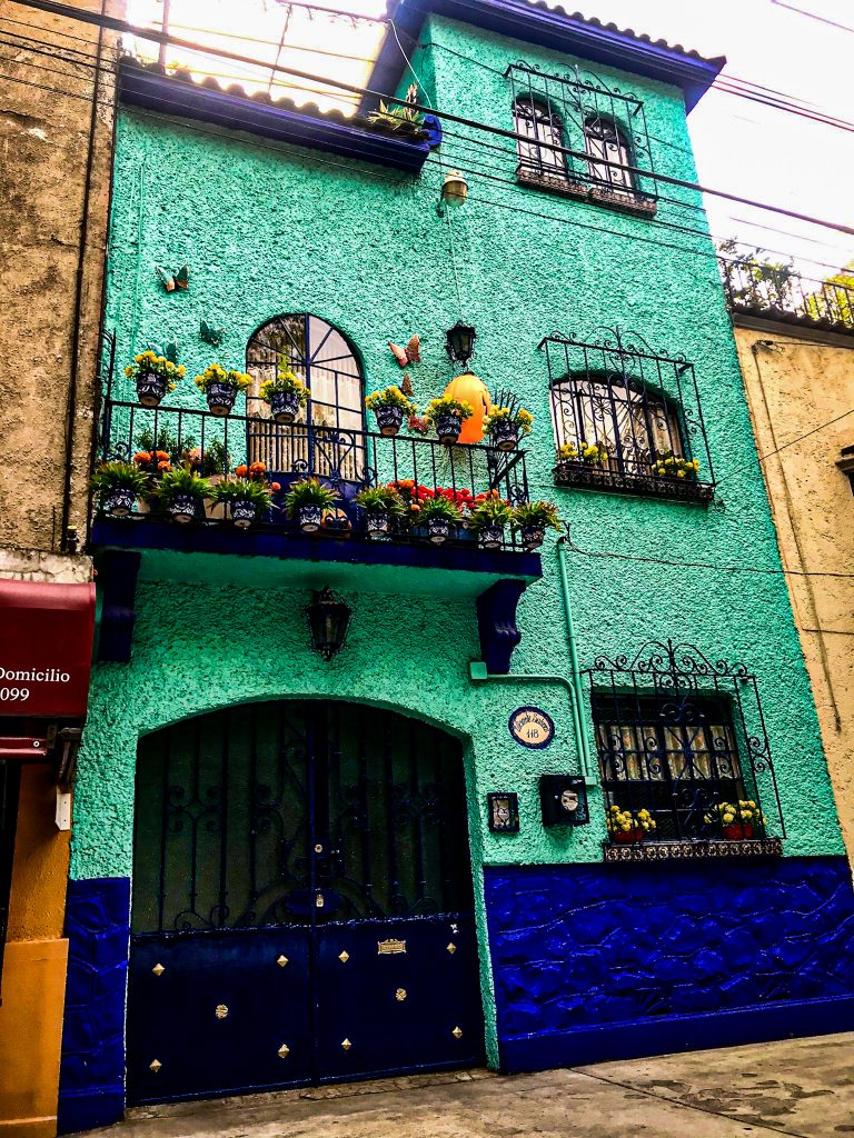 Blue House in Mexico City