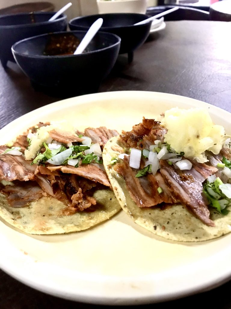 Tacos de Pastor - Roma Neighborhood Mexico City
