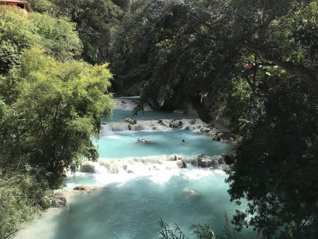 Grutas Tolantongo River - Mexico