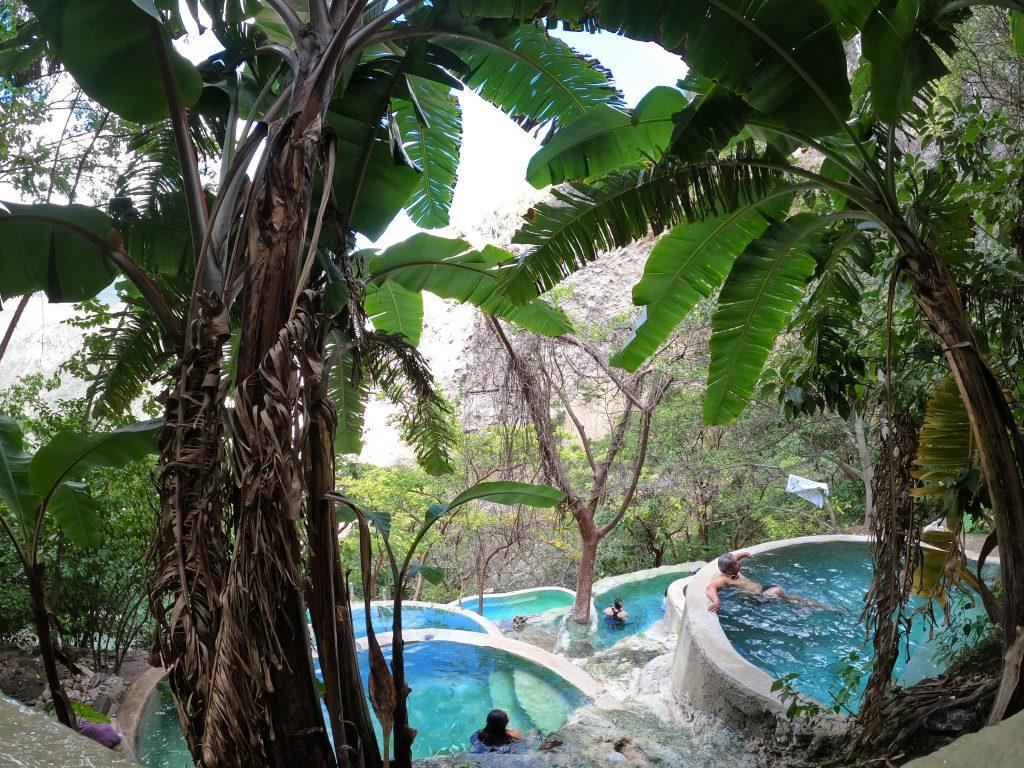 small pools - Grutas Tolantongo