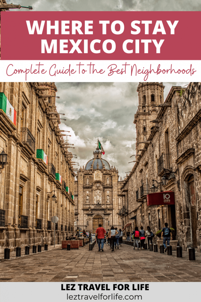 Where to Stay in Mexico City: Complete Guide to the Best Neighborhoods | Mexico City is huge! Looking for a complete guide to all the best neighborhoods in Mexico City? What to know which neighborhood fits you the best? Check out this complete guide to help plan your trip. #travelmexico #mexicocityguide #mexicocity #mexicocityneighborhoods #wheretostaymexicocity #wheretostay #mexicocitydestinations
