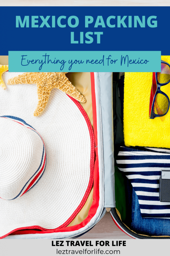 Mexico Packing List: Everything You Will Need For Mexico   Trying to figure out what to pack for Mexico? Mexico is a huge country with so many different regions you will want to make sure you do some research before you travel. Check out this article to read about all the regions, weather, and what to pack for your Mexico trip. #travelmexico #mexicopackinglist #mexicopackingguide #mexicoclimates #mexicoregions #packinglist #packingguide #whattopackformexico