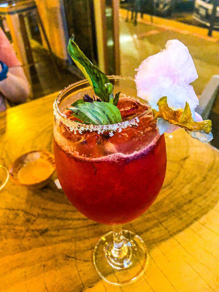Mezcal y Sal cocktail