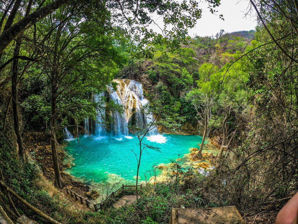 Waterfall El Chiflon Chiapas