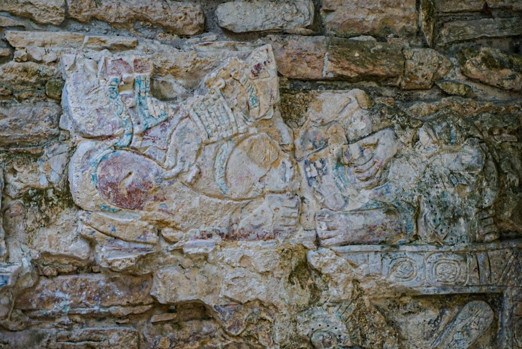 Yaxchilan ruins Mexico