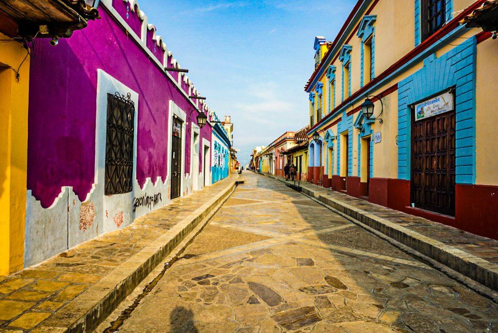 Main street san cristobal de las casas chiapas